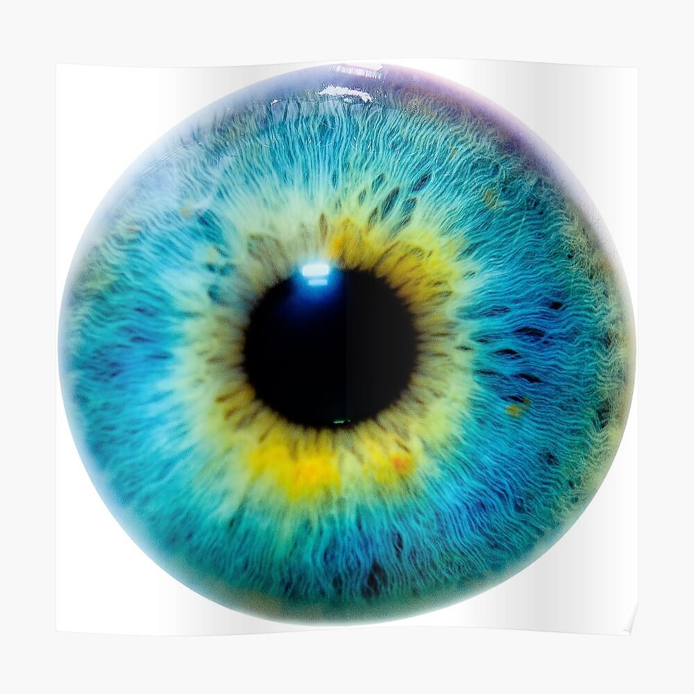 Planet Eye Poster