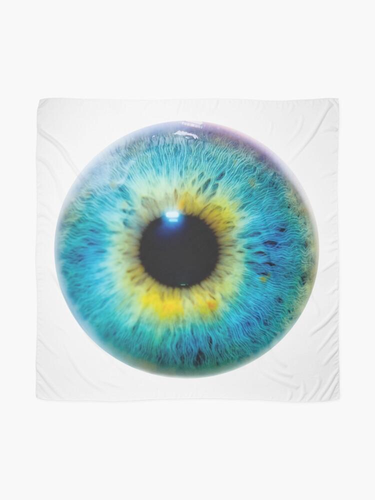 Alternate view of Planet Eye Scarf