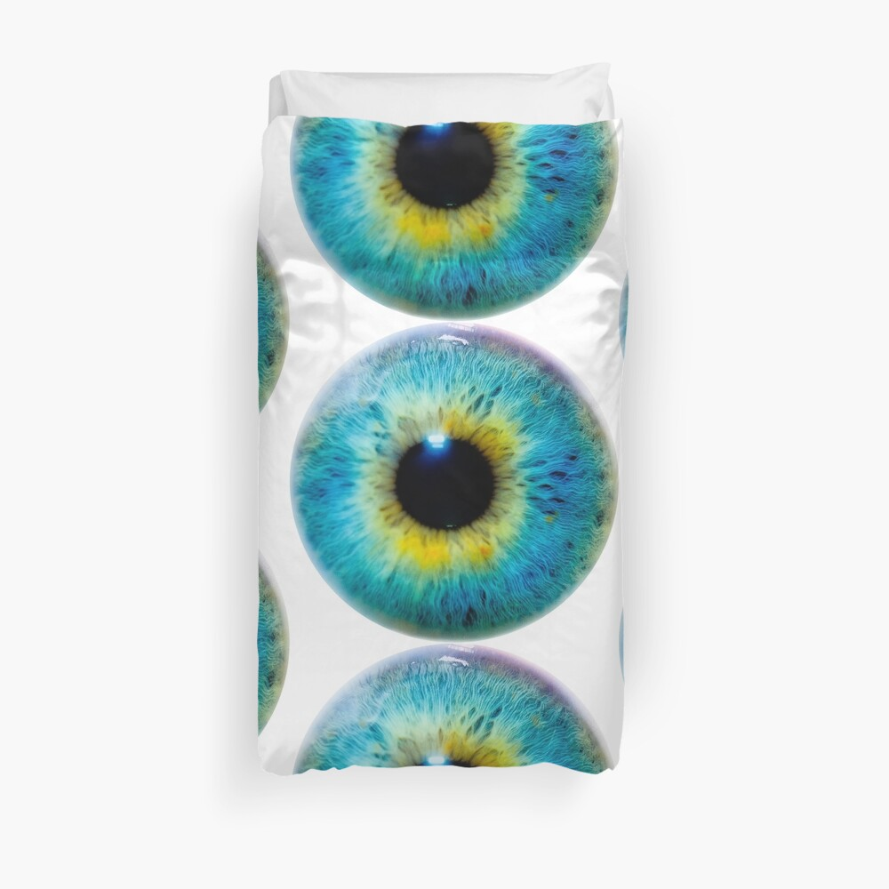 Planet Eye Duvet Cover
