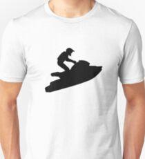 Courses de jet ski T-shirt unisexe