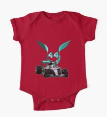 Lewis Hamilton F1 with LH 2016 44 car One Piece - Short Sleeve