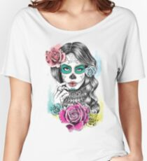Aaliyah, Day of the Dead Women's Relaxed Fit T-Shirt