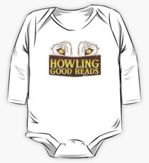 Howling good reads distressed version  One Piece - Long Sleeve