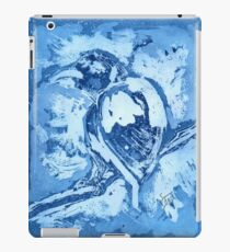 Bird on a Wire (Blue) iPad Case/Skin