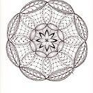 Tangled Mandala by Christianne Gerstner