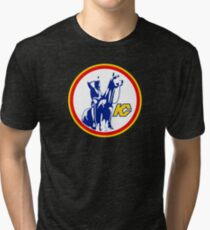 KANSAS CITY SCOUTS HOCKEY RETRO Tri-blend T-Shirt