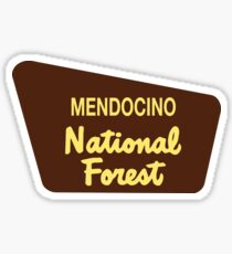Mendocino National Forest Sticker