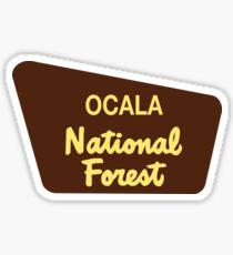 Ocala National Forest Sticker