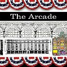 Dayton Arcade Mug in BW and Color by steeber