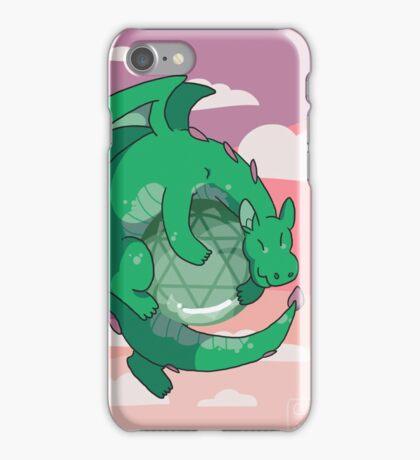 Aventurine Gemstone Dragon iPhone Case/Skin