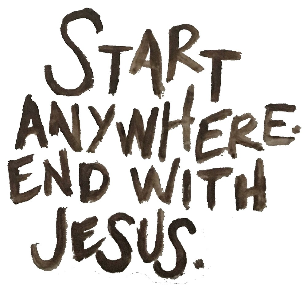 start anywhere by sofiasalinas