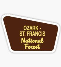 Ozark - St. Francis National Forest Sticker