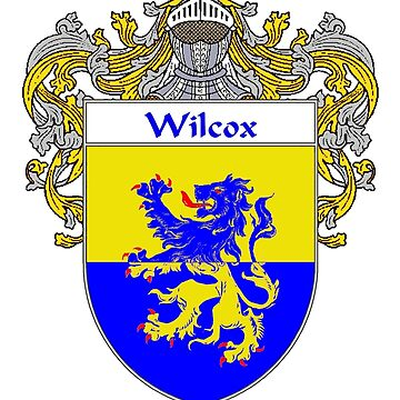 Wilcox Coat of Arms / Wilcox Family Crest by IrishArms