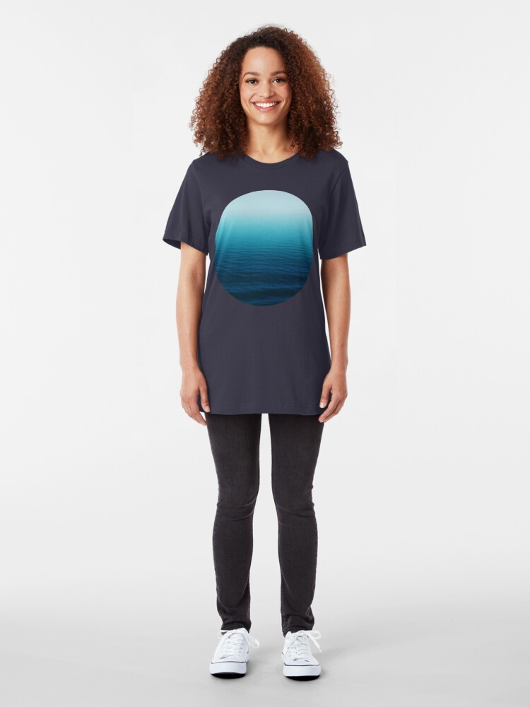 Alternate view of Deep Blue Slim Fit T-Shirt