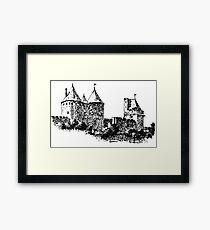 CASTLE - HISTORY Framed Print
