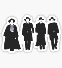 Tombstone: Justice is Coming Sticker