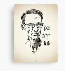 Icons - Chuck Palahniuk Canvas Print