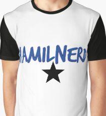 Hamilnerd Star Graphic T-Shirt