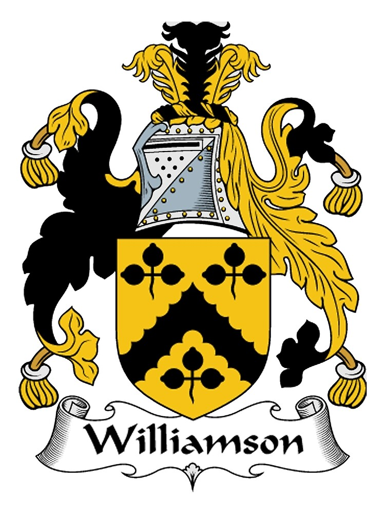 Williamson Coat of Arms / Williamson Family Crest by William Martin