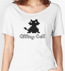 ALLEY CAT - DOS PC GAME Women's Relaxed Fit T-Shirt