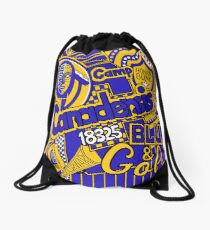 Canadensis Collage Drawstring Bag