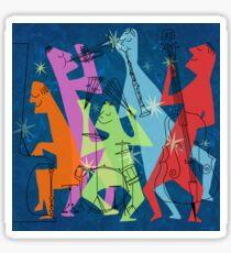 New Orleans Jazz Quintet Sticker