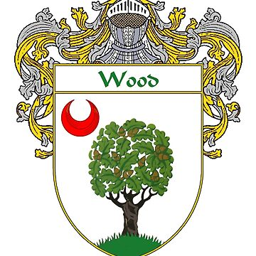 Wood Coat of Arms / Wood Family Crest by IrishArms
