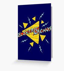 Elektric Nachos Greeting Card