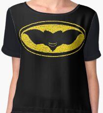 Gotham Gremlin (distressed) Women's Chiffon Top