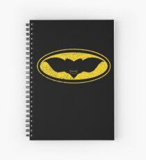 Gotham Gremlin (distressed) Spiral Notebook