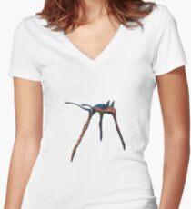 Sea Treader  Women's Fitted V-Neck T-Shirt