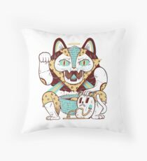 Dumb Luck Throw Pillow