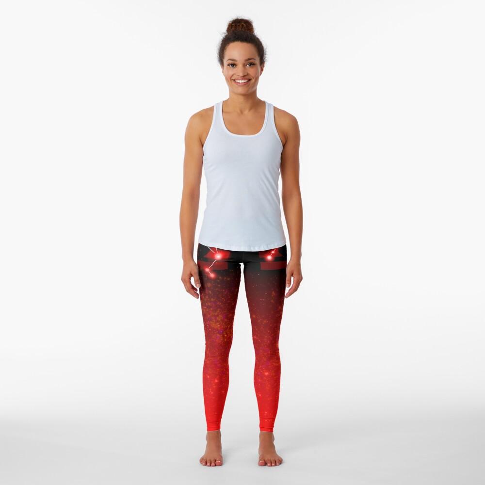 Libra - Red Leggings