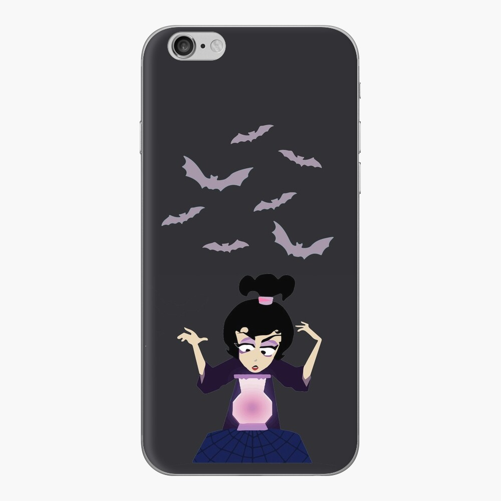 Lydia Incantation (Gray) iPhone Skin