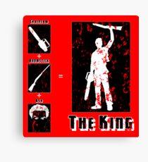 The King - Dark Canvas Print