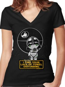 A Powerful Ally Women's Fitted V-Neck T-Shirt