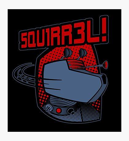 SQUIRREL!  Photographic Print
