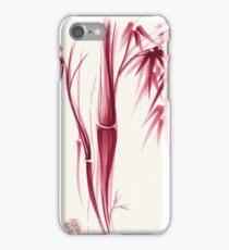 Inspiration - Sumie ink brush zen bamboo painting iPhone Case/Skin