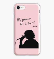 """the 1975 """"la poesie est dans la rue"""" iPhone Case/Skin"""