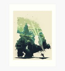 Colossal World Art Print