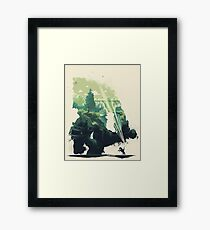 Colossal World Framed Print