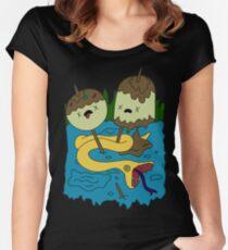 Princess Bubblegum's rock T-shirt Women's Fitted Scoop T-Shirt