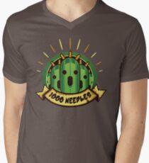 Camiseta para hombre de cuello en v 1000 agujas !!