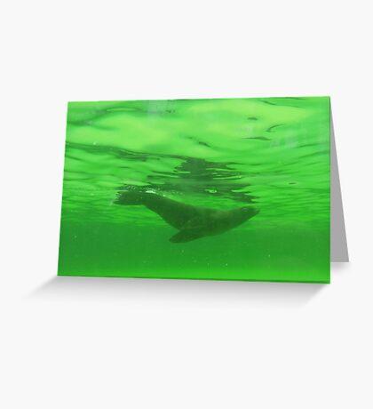 Water Angel II Greeting Card
