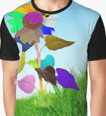 Flower of Color Graphic T-Shirt