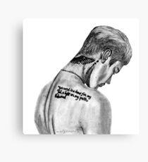 Justin Canvas Print