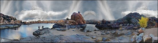 Lake Watson Mindscape by Wayne King