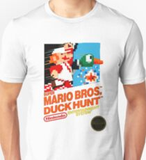 NES Super Mario Bros & Duck Hunt  T-Shirt
