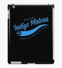 Indigo Plateau (blue) iPad Case/Skin