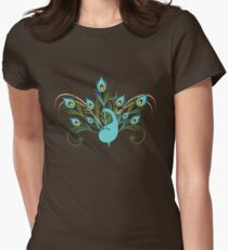 Just a Peacock - Tee Women's Fitted T-Shirt